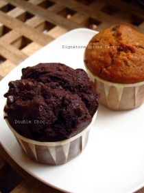 Choc chip + Signature Spiced Carrot